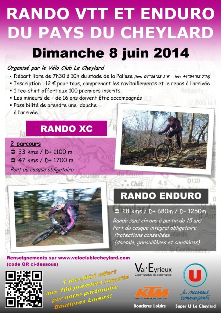 Affiche Endurando 2014